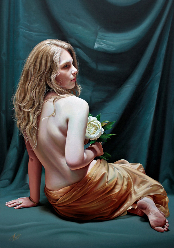Υπερρεαλιστικές Ελαιογραφίες από την Christiane Veugels