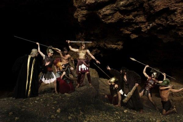 Θησέας και Αριάδνη στο νησί των ταύρων