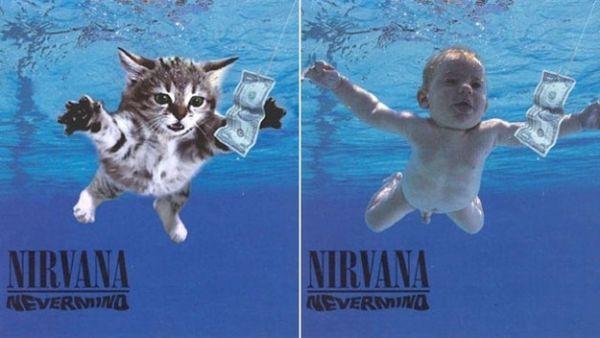 Αγαπημένα Album Art, αλλά με Γατάκια