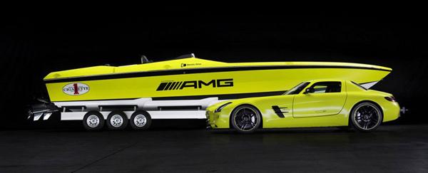 Ηλετκτρικό Ταχύπλοο από την Mercedes-Benz AMG