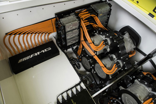 Ηλεκτρικό Ταχύπλοο από την Mercedes-Benz AMG