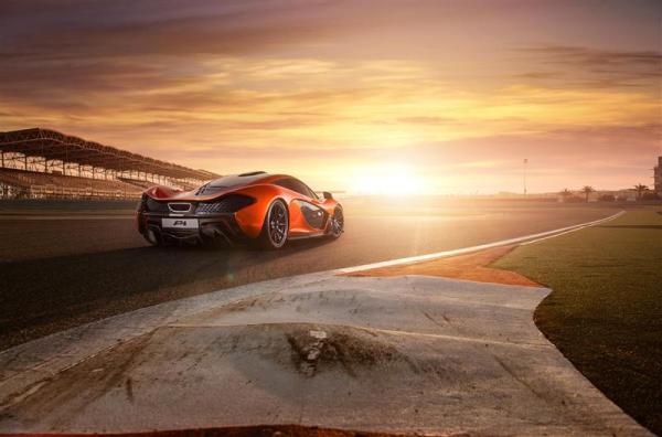 McLaren P1 2014:Η Νούμερο Ένα Σύνθλιψη