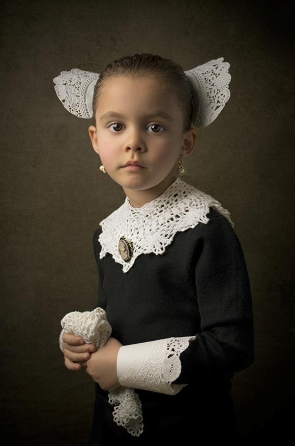Ομορφα vintage  πορτραιτα από τον Bill Geka