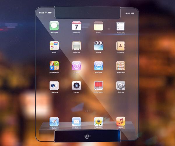 Το Νέο Διαφανές iPad απο τον Ricardo Afonso