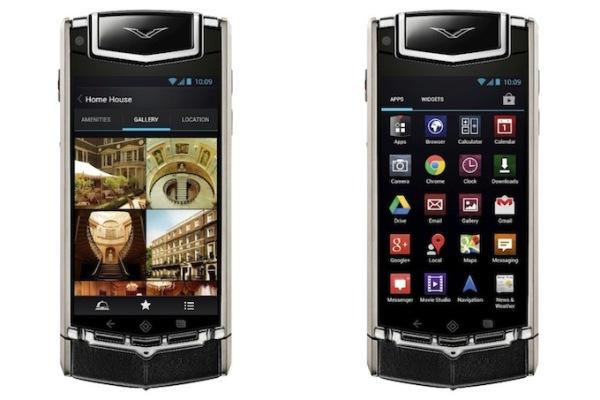 Το Νέο Πολυτελές Vertu Ti με Android