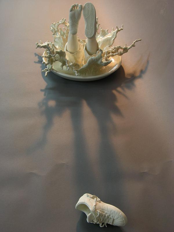 Φανταστικα κεραμικα γλυπτα  από τον Johnson Tsang