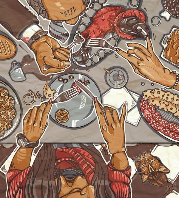 Η εικονογράφος  της Ουκρανίας η Anna Savkina