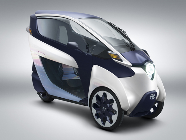 Το Προσωπικό Ηλεκτρικό Όχημα: Toyota i-Road