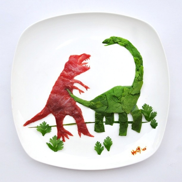 Τέχνη τροφίμων από το Hong Yi