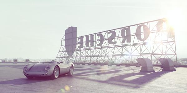 Porsche 550 Spyder