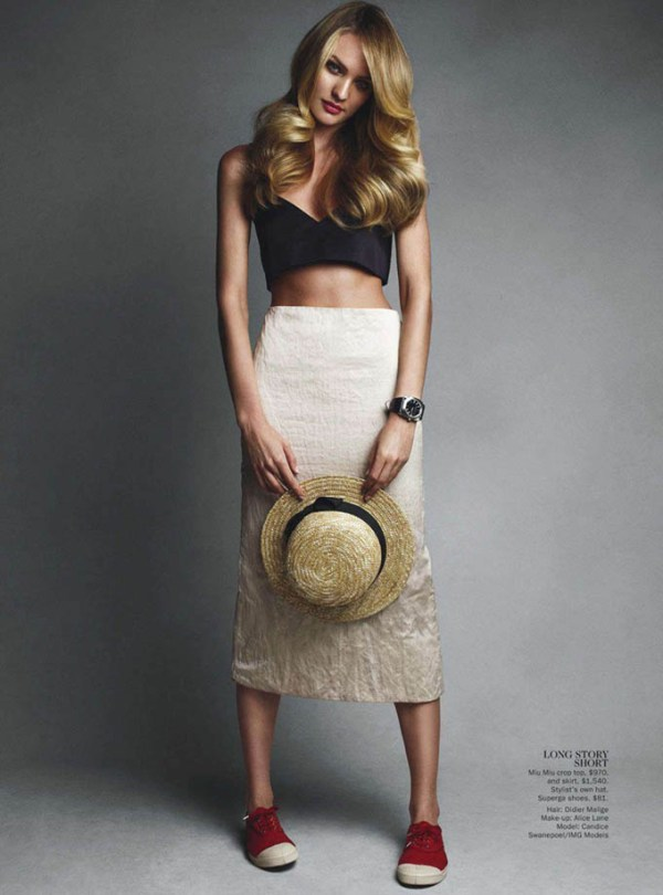 Η Candice Swanepoel στο εξώφυλλο του Vogue της Αυστραλίας