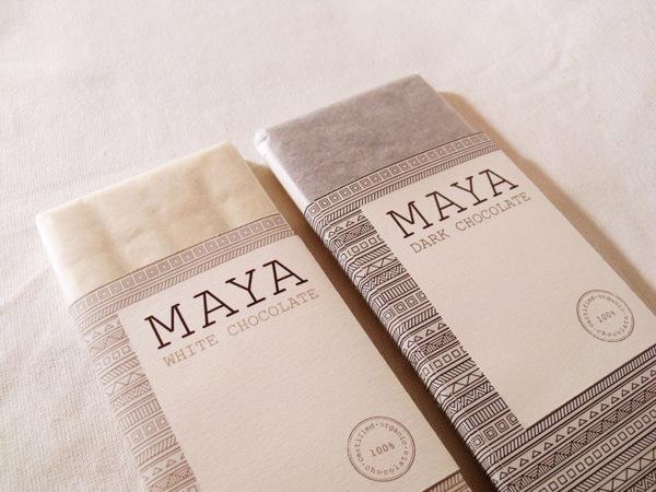 Συσκευασία της Σοκολάτας Maya από την Eri Liougkou