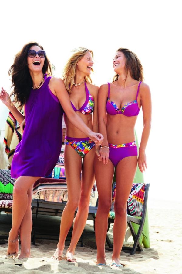 Η Nina Agdal στην διαφήμιση της Sloggi