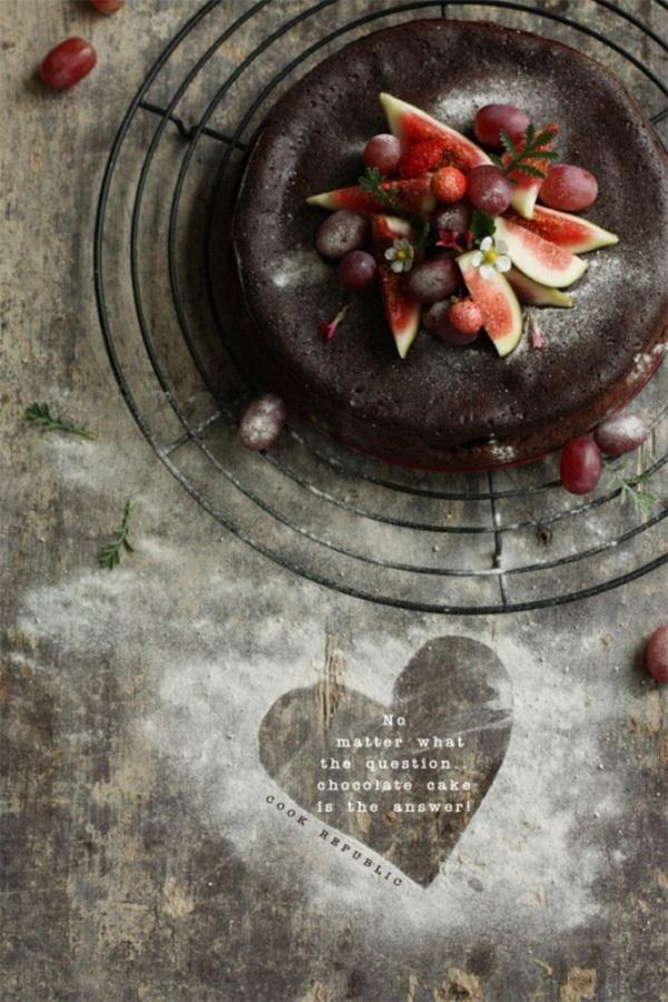 Το κέικ σοκολάτας από την Cook Republic