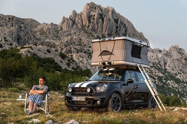 Εξορμήσεις με το Mini Countryman All4 Camp