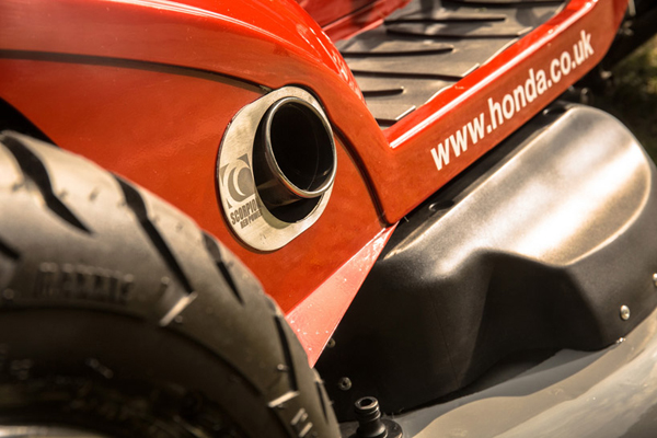 Honda HF2620-Η Πιο Γρηγορη Μηχανή για Γκαζόν