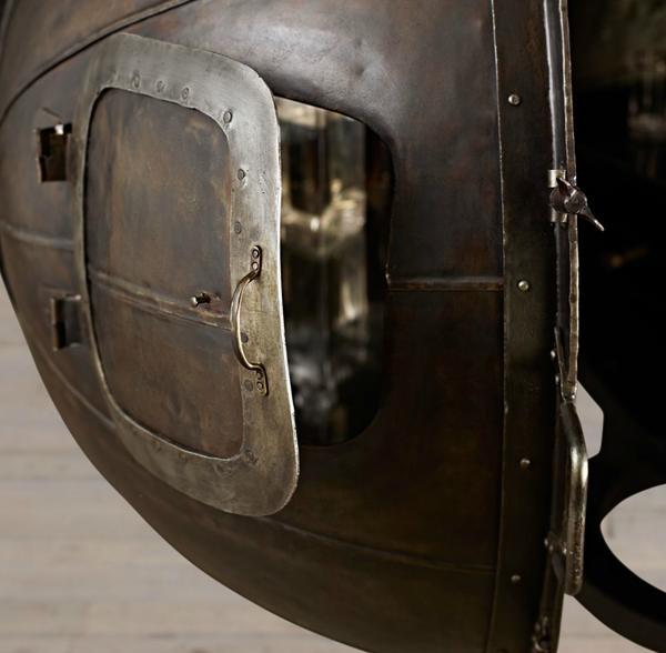 Μπαράκι του 1920-Γερμανικός Λαμπτήρας Ελέγχου Τάσης