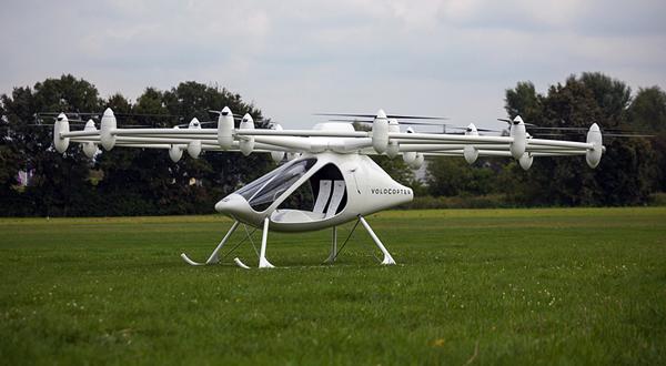 Ηλεκτρικό Ελικόπτερο E-Volo VC200