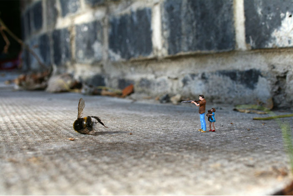 Οι Μικροί Άνθρωποι από τον Slinkachus