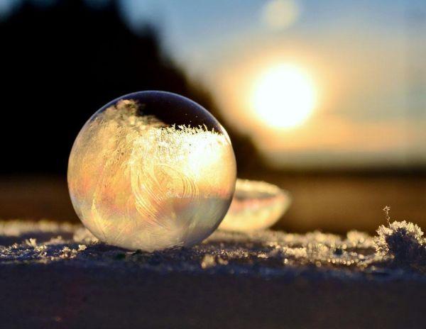 Σαπουνόφουσκες στους -9°C09