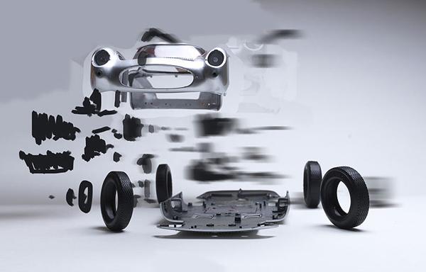 Εκρηκτικές Εμφανίσεις των Κλασσικών Σπορ Αυτοκινήτων από τον Fabian Oefner