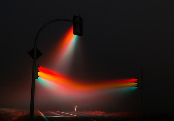Φωτογραφίες από Φανάρια Μέσα στην Ομίχλη