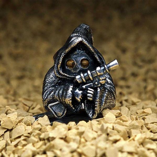 Δαχτυλίδια με τις Μορφές των Ηρώων του Star Wars