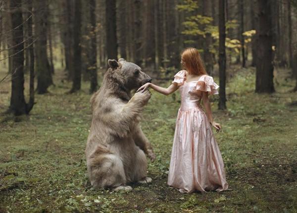 Σουρεαλιστικές Φωτογραφίες με Αληθινά Ζώα
