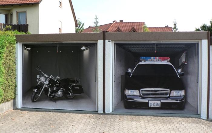 Τρισδιάστατες Πόρτες Γκαράζ