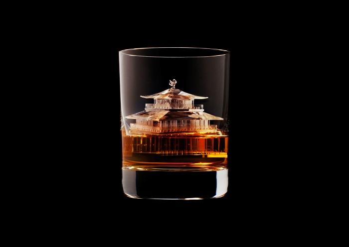 3D Γλυπτά από Κυβάκια Πάγου από τη Suntory