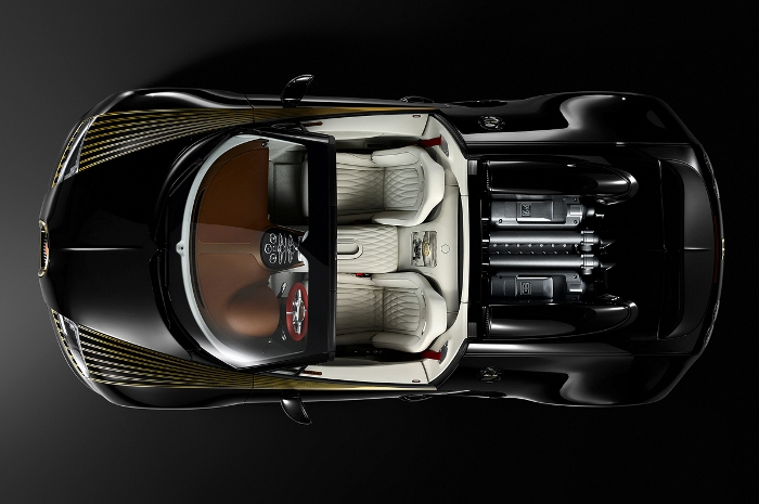 Η Κομψή Bugatti Veyron Grand Sport Vitesse Black Bess