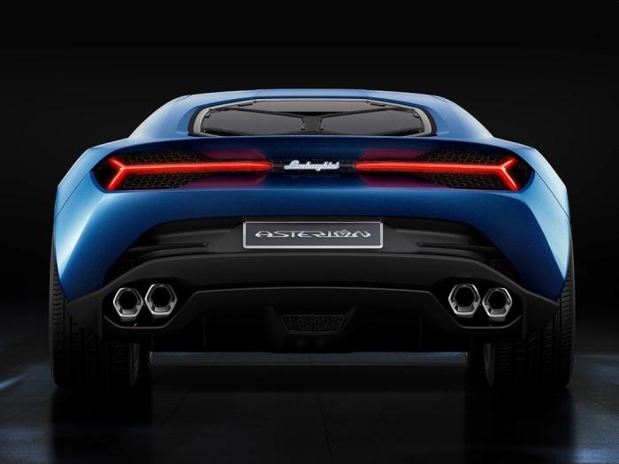 Η Νέα Υβριδική Lamborghini Asterion