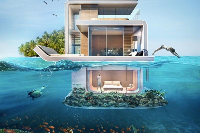 Στο Ντουμπάι θα κατασκευάστουν πλωτά βίλες.