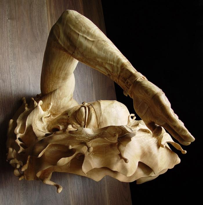 Δημιουργικά Ξύλινα Γλυπτά από την Stefanie Rocknak