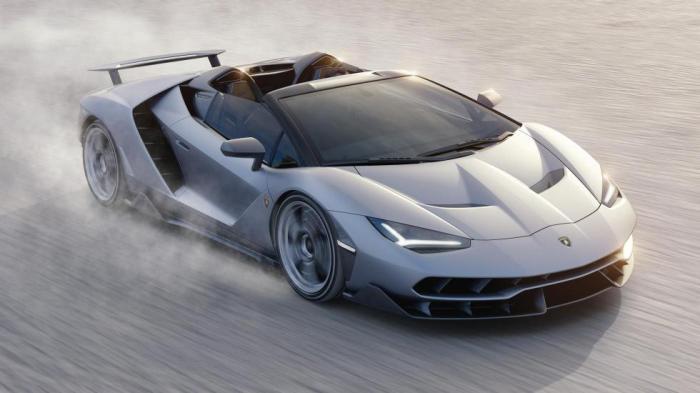 Lamborghini Centenario Roadster 2017